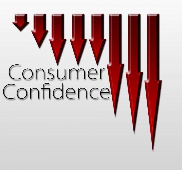 La confianza del consumidor se desploma contra todo pronóstico en Agosto