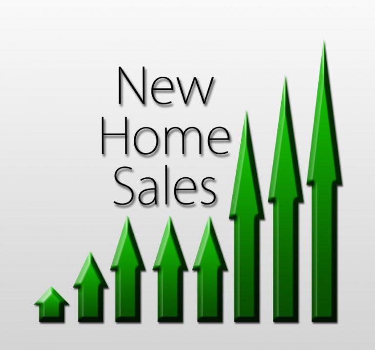 Las ventas de casas nuevas aumentan más de lo previsto después del revés del invierno.